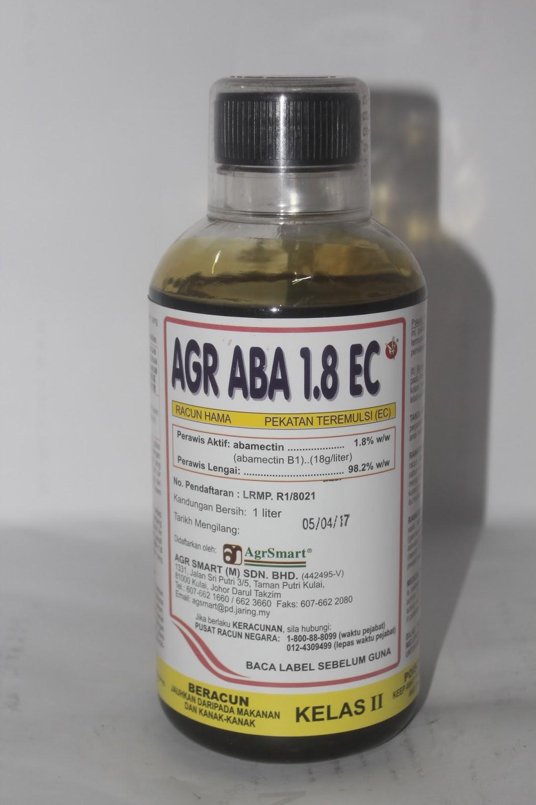 Agr Abamectin - RM60.00