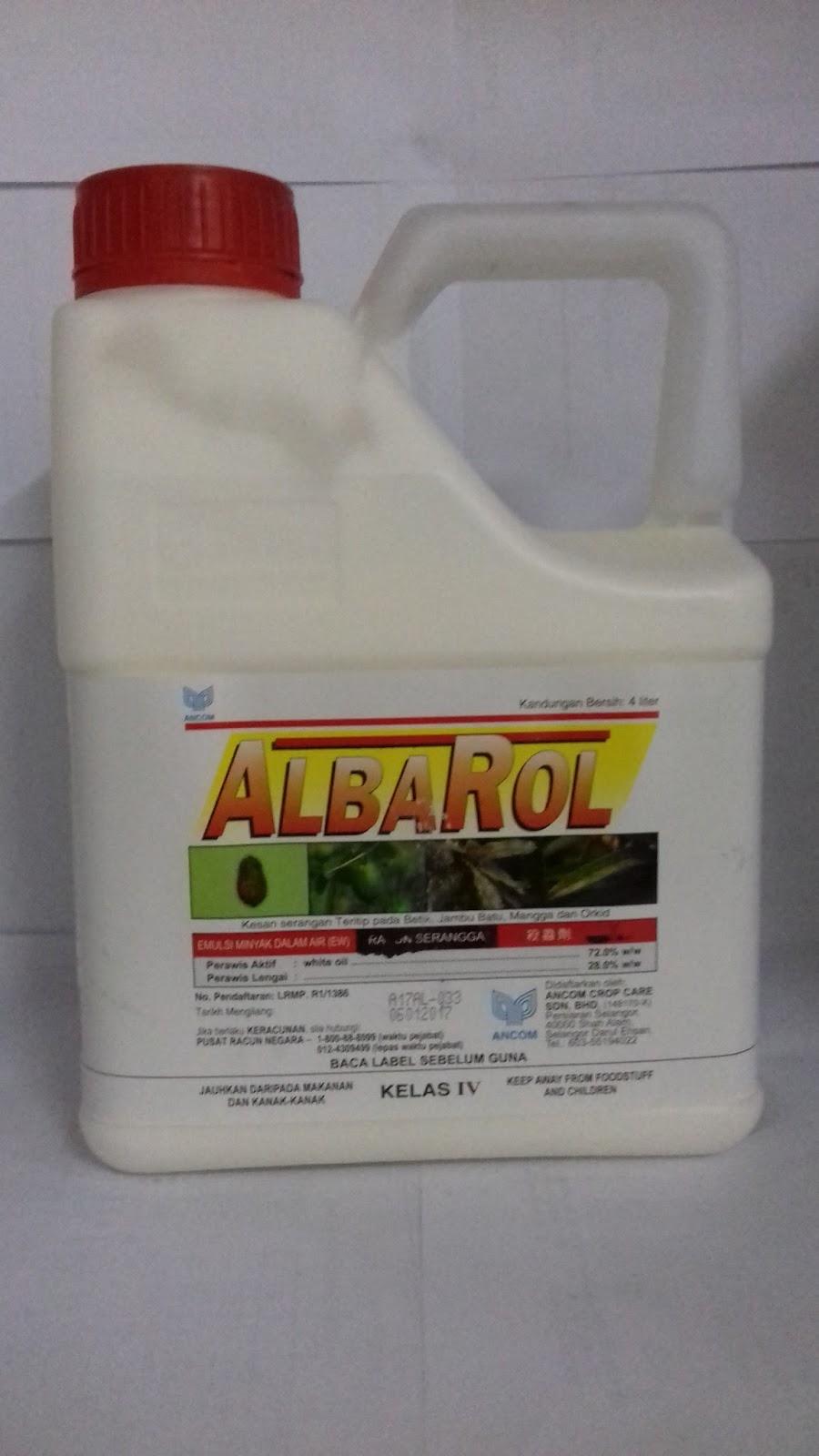 Albarol - RM25.00