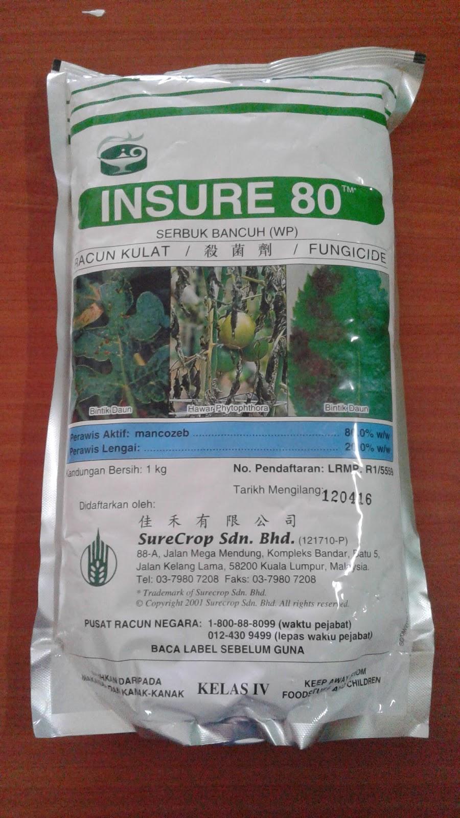 Insure 80 - RM26.50