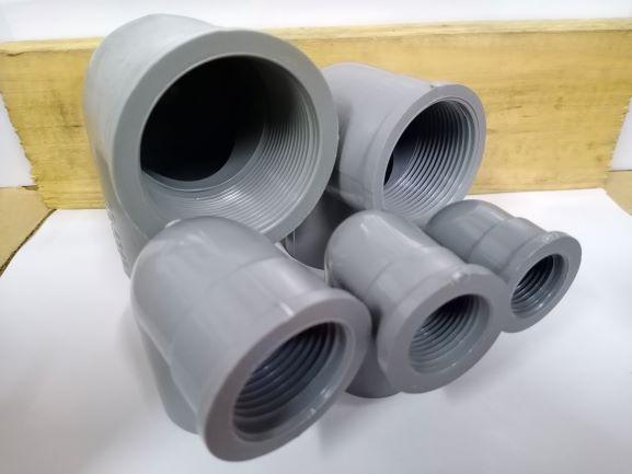 PVC P/T Elbow - RM0.50