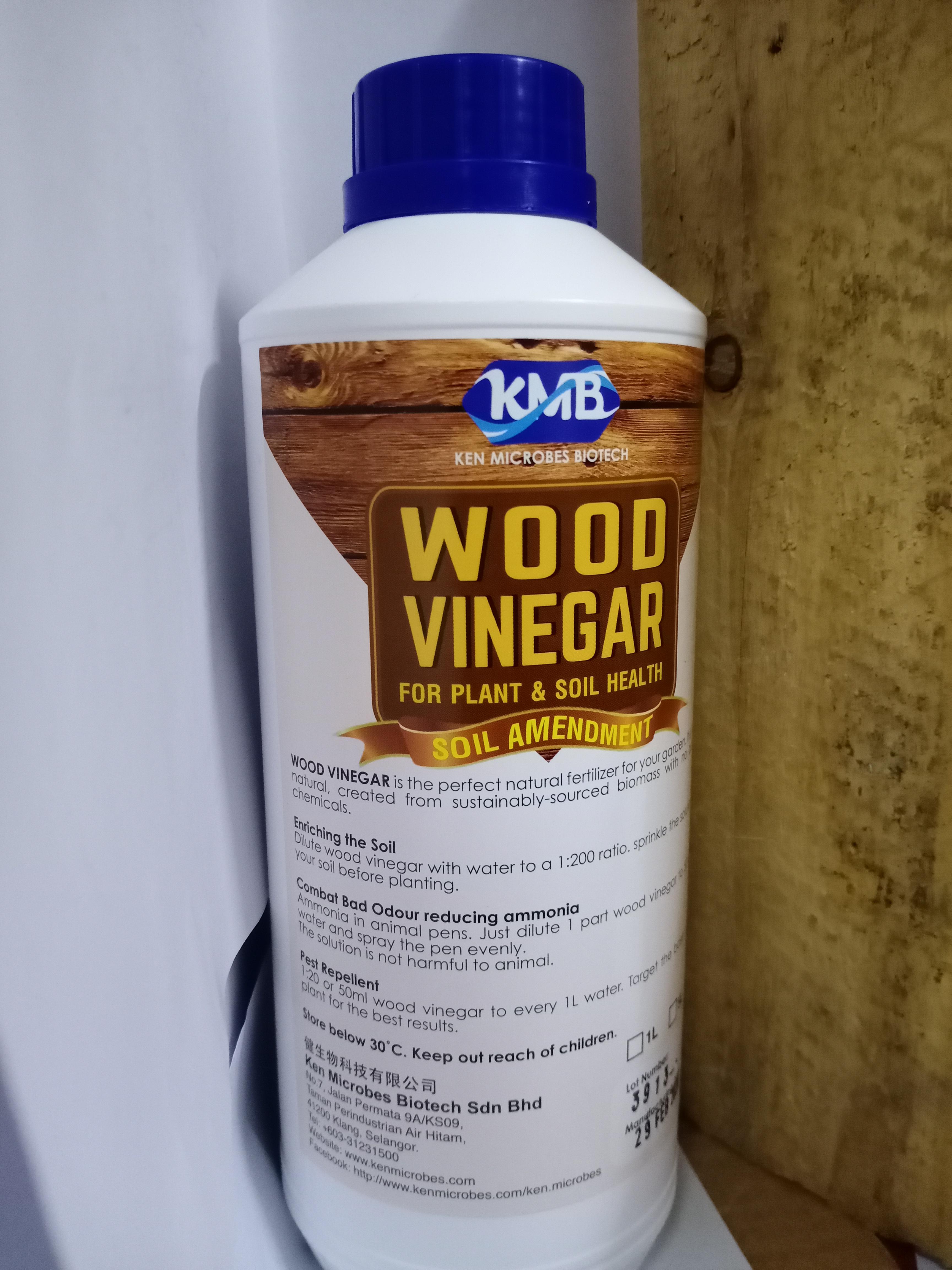 Wood Vinegar / Cuka Kayu - RM24.00